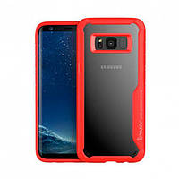Накладка для Samsung Galaxy G955 S8 Plus TPU+PC iPaky Luckcool Series Червоний