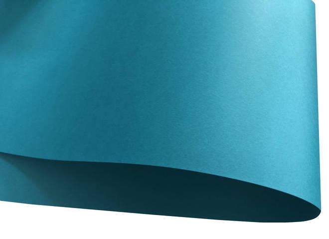 Дизайнерская бумага Vert Paon, бирюзовая матовая, 120 гр/м2