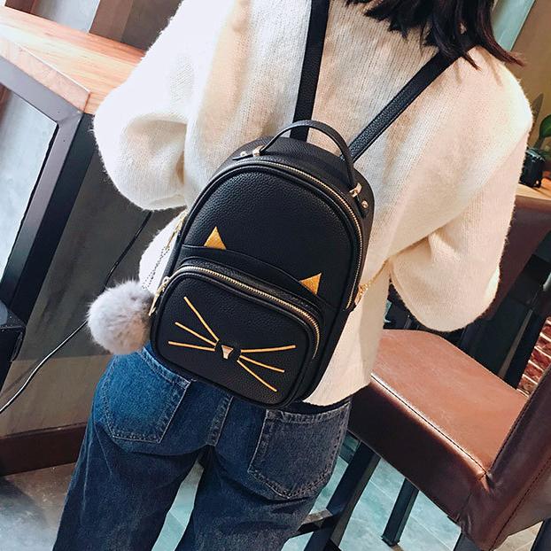 рюкзак женский в виде кота