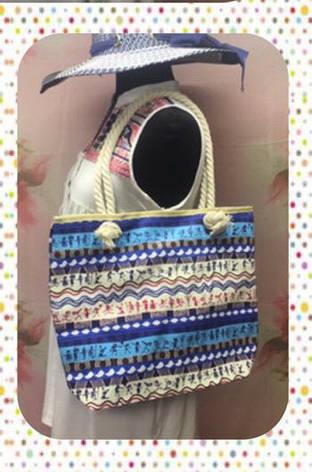 Городская женская сумка через плечо с этническим принтом, фото 2