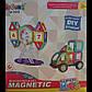 Конструктор детский магнитный 6032 Машина 52 детали, фото 2