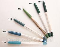 Карандаш для глаз водостойкий Flormar Waterproof Eyeliner DIZ /01-1