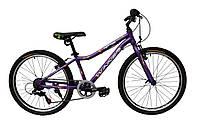 """Велосипед Winner Candy 24"""" фиолетовый"""