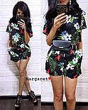 Женский модный костюм с шортам (в расцветках), фото 3