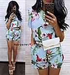 Женский модный костюм с шортам (в расцветках), фото 8