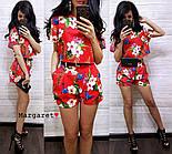 Женский модный костюм с шортам (в расцветках), фото 9