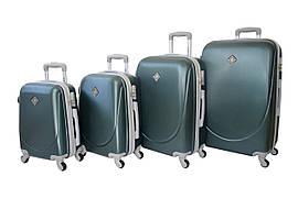 Набір валіз на колесах Neo 4 штуки Різні кольори