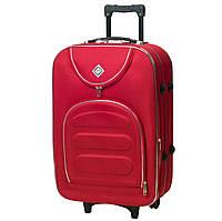 Дорожный чемодан на колесах Bonro Lux Красный Средний, фото 1