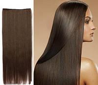 Накладные волосы на заколках.Тресса ровная .Одиночная широкая прядь.волосы на заколках клипсах.шиньен.1