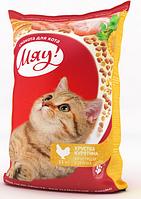 Сухой корм для кошек Мяу! с курицей, 400 г