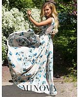 Шикарное длинное платье. Размеры 42,44,46,48, фото 1