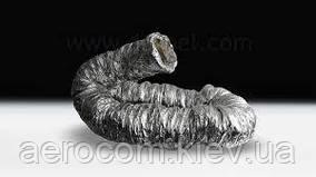 Воздуховод гибкий утепленный Termofleks d100мм до 250 градусов 5метров