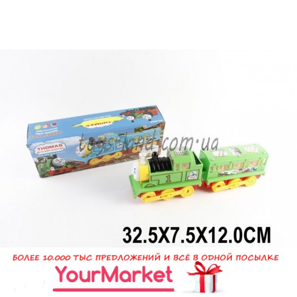 Паровозик ТОМАС батар. 689 (1517007) (48шт/2) в коробке 32,5*7,5*12см