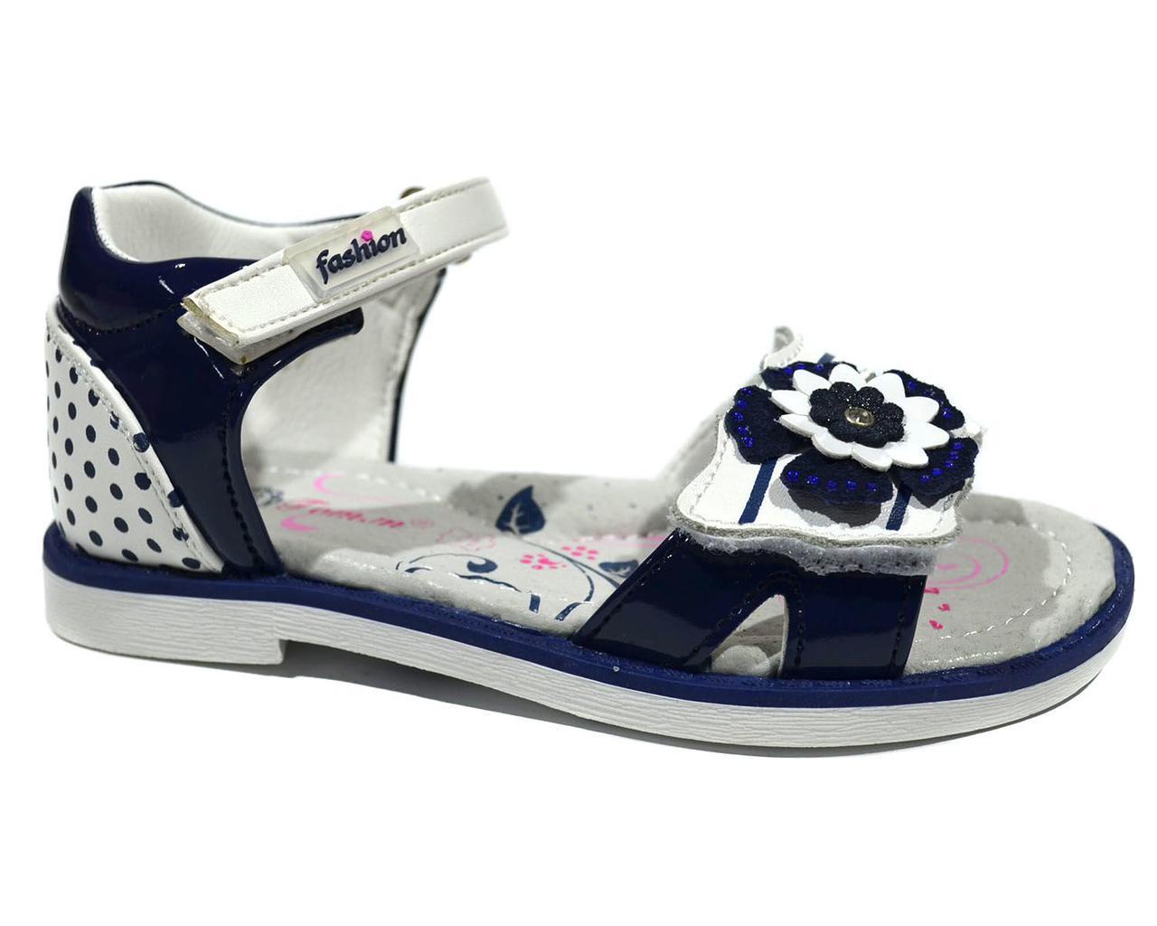 Босоножки для девочки ТОМ.М Blue Flower