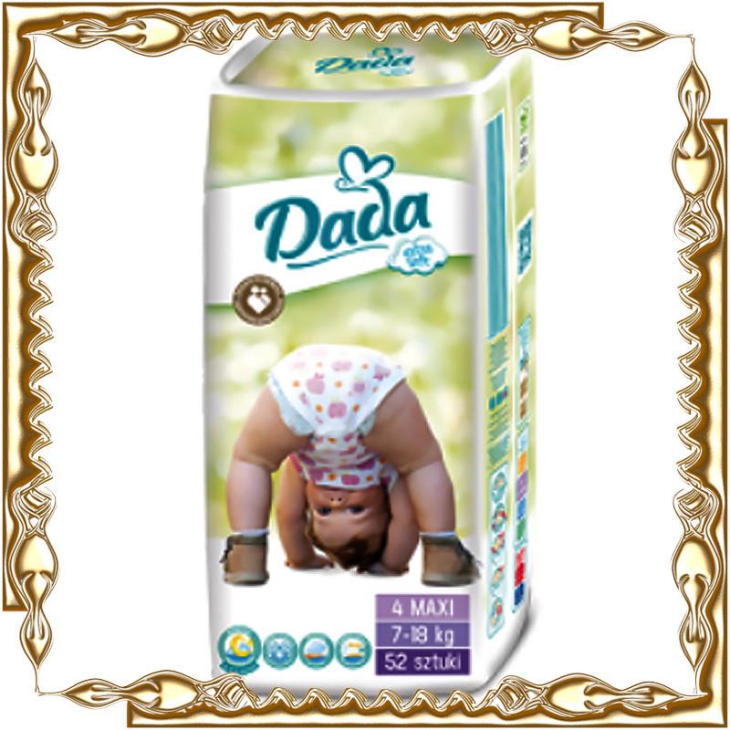 """Детские подгузники """"DADA"""" extra soft 4"""
