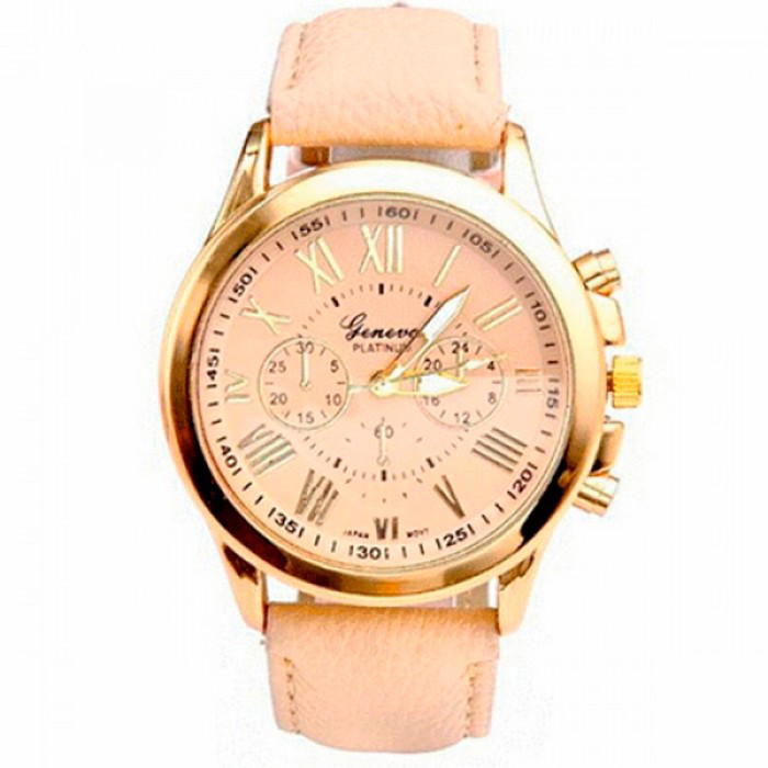 Женские часы Geneva Uno Gold