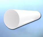 Воздуховод круглый пластиковый Dospel-D100мм