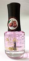 🌸 Масло для размягчения кутикул с витамином Е — 15 мл с кисточкой — 💃🏻 с ароматом вишня Milano cosmetics