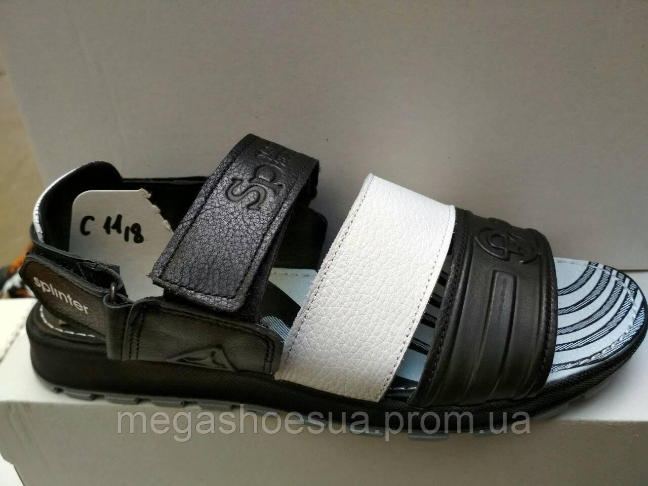 8775ae867c78 Сандалии мужские босоножки Splinter с натуральной кожи стильные - Интернет-магазин  украинской обуви MegaShoes в