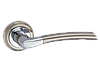"""Дверная ручка на розетке: """"ESSE"""" Z-1210 SN/CP матовый никель/полированный хром"""