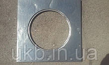 Поверхность однокомфорочная чугунная под казан 600*600мм (39кг) / Поверхня однокамфорна чавунна до казана, фото 3