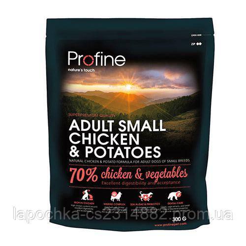 Корм для собак мелких пород Profine Adult Small Chicken & Potatoes с курицей и картофелем