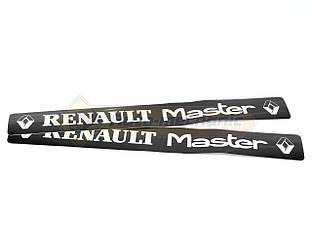 Наклейки на порожки RENAULT MASTER на Renault Master - (505 мм х 65мм) - Турция - TN401