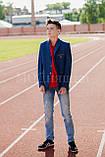 Пиджак  для мальчика Roma 11-14 лет, подростковая одежда, фото 2