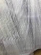 Тюль фатин белая VST-1279, фото 3