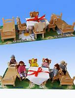Мебель для кукол (maxi набор), фото 1