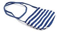 Детская сумочка для девочек  art. (102338) синяя/белая