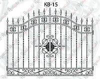 Кованые ворота 2700х1890