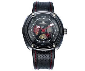 Кварцевые часы AMST 3019 black-red - гарантия 12 месяцев
