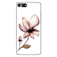 Чехол с рисунком для HomTom S9 Plus Цветок