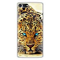 Чехол с рисунком для HomTom S9 Plus Леопард