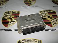 Блок управления двигателем Porsche Cayenne 955 (0261207696 / 022906032BT)
