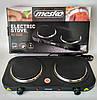 Електрична плита двухкамфорочная Mesko MS 6509 2000 Вт