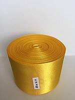 Лента 5 см - цвет желтый 19