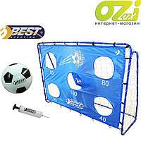 Футбольные ворота с экраном Best Sporting 213 x 152 см