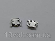 Коннектор для зарядки планшетів; мобільних телефонів, 5 pin, micro-USB тип B