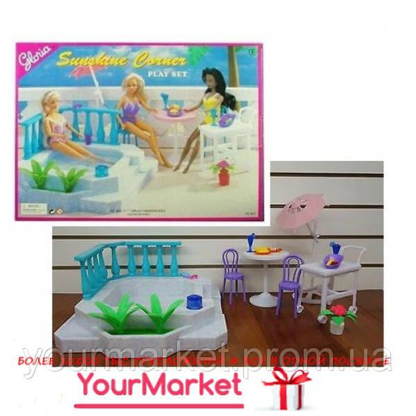 Мебель Gloria 9879 для пляжа бассейн,стол,стулья