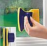 Магнитная щетка для мытья окон с двух сторон одновременно Glass Wiper