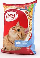 Сухой корм для котов Мяу! рыбный 11 кг