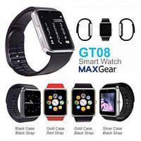 Smart Watch GT-08 (black, silver, gold, red), фото 1