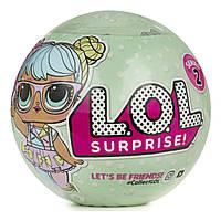 Кукла-сюрприз в шарике LOL, 2 серия(Макси) большаЯ, фото 1