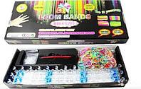 Набор Rainbow-Loom Bands для плетения браслетов из резинок, 600шт, фото 1