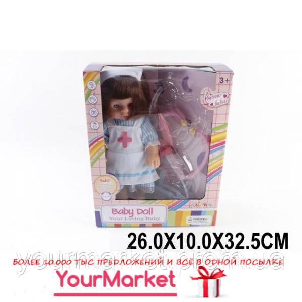 Кукла медсестра муз с набором доктора MS13002/1