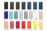 Силиконовый чехол для IPhone Silicone Case 5/SE/6/7/8/Plus/X айфон