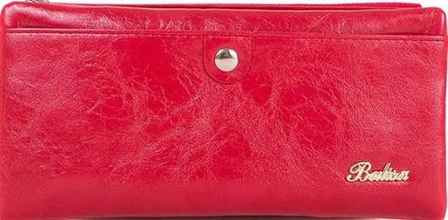Женский, яркий кошелек из качественного кожезаменителя BALISA (БАЛИСА) MISS17467-red