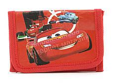 Красивый детский дешевый кошелек для мальчиков Тачки art.  (102280) красный